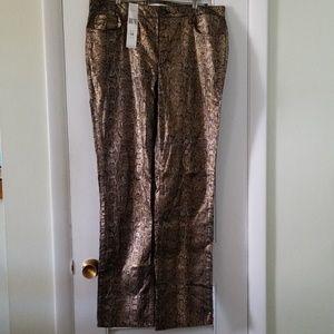 Jones NY metallic jeans